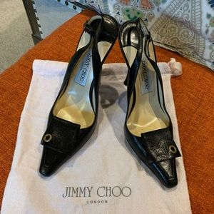Jimmy Choo Black Pumps- 37 1/2